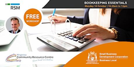 Bookkeeping Essentials (Mingenew) tickets