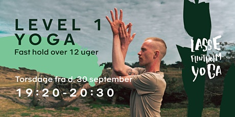 12 ugers Level 1 Yoga tickets