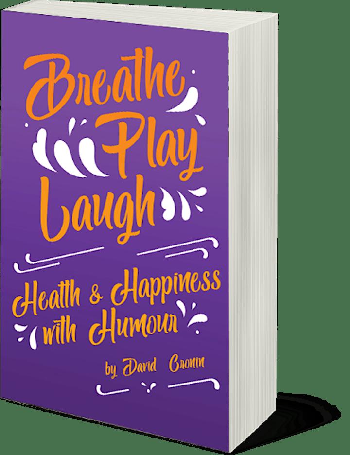 David Cronin Author Talk: Breathe Play Laugh image