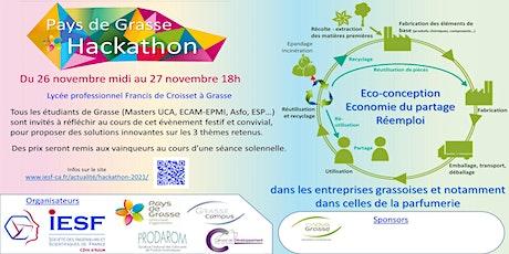 Pays de Grasse Hackathon billets