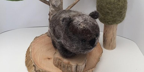 Needle Felted Wombat Workshop tickets