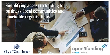 Grants & Sources of Funding for Community organisations tickets