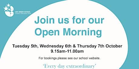 Open Morning at Ash Green School tickets