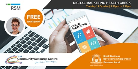 Digital Marketing Health Check (York) tickets