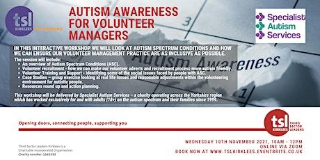 Autism Awareness for Volunteer Managers tickets