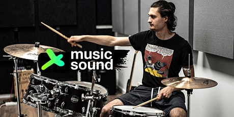 How to record drums for begginers - UNITED POP workshop tickets