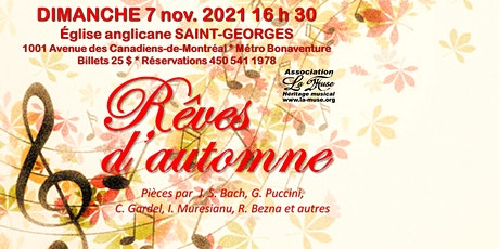 Rêves d'automne tickets
