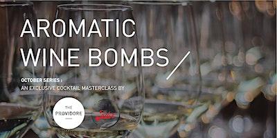 Exclusive Wine Masterclass – October series – Aromatic Bombs