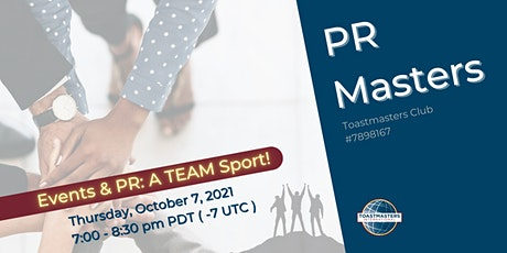 Public Relations Masters (Events and PR: A Team Sport!) tickets