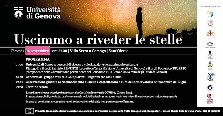 Immagine Uscimmo a riveder le stelle: Villa Serra - Parco Storico