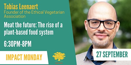Meat the future: the rise of a plant-based food system tickets