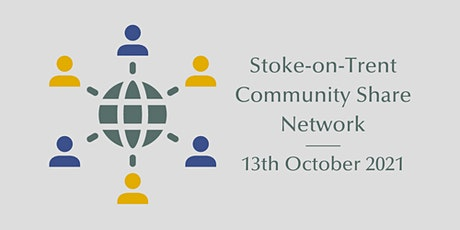 Stoke-on-Trent Community Share Network tickets