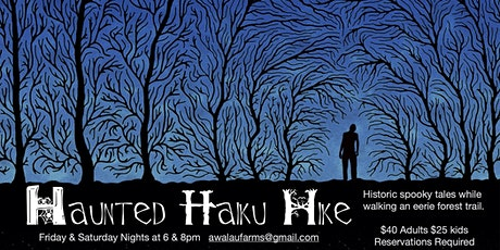 HAUNTED HAIKU HIKE tickets
