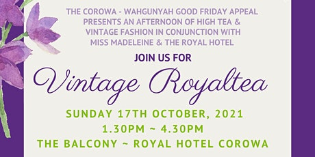 Vintage Royaltea tickets