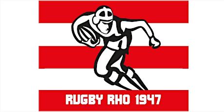 Seniores: RugbyRho vs Rugby Bergamo 1950 vs Novara Rugby biglietti
