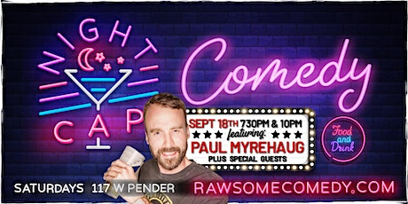 Nightcap Comedy | Live Stand up Comedy tickets