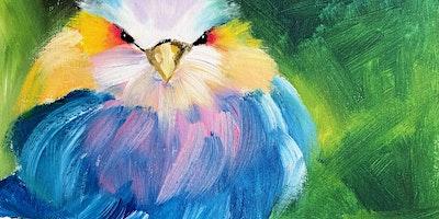 ONLINE Paint Along @ Home — Blue Bird