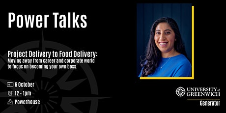 Power Talks - Project Delivery To Food Delivery And More tickets