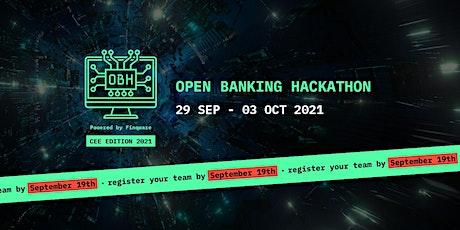 Open Banking Hackathon - CEE Edition 2021 tickets