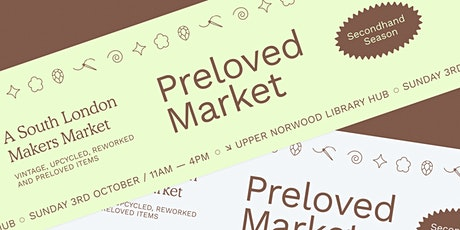Preloved Market in Crystal Palace tickets