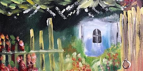 ONLINE Paint Along @ Home -- Garden Gate tickets
