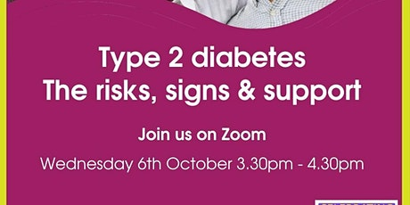 Type 2 diabetes: The risks, signs and support tickets
