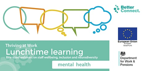 Thriving at Work with York Mind: Why employee mental health matters tickets