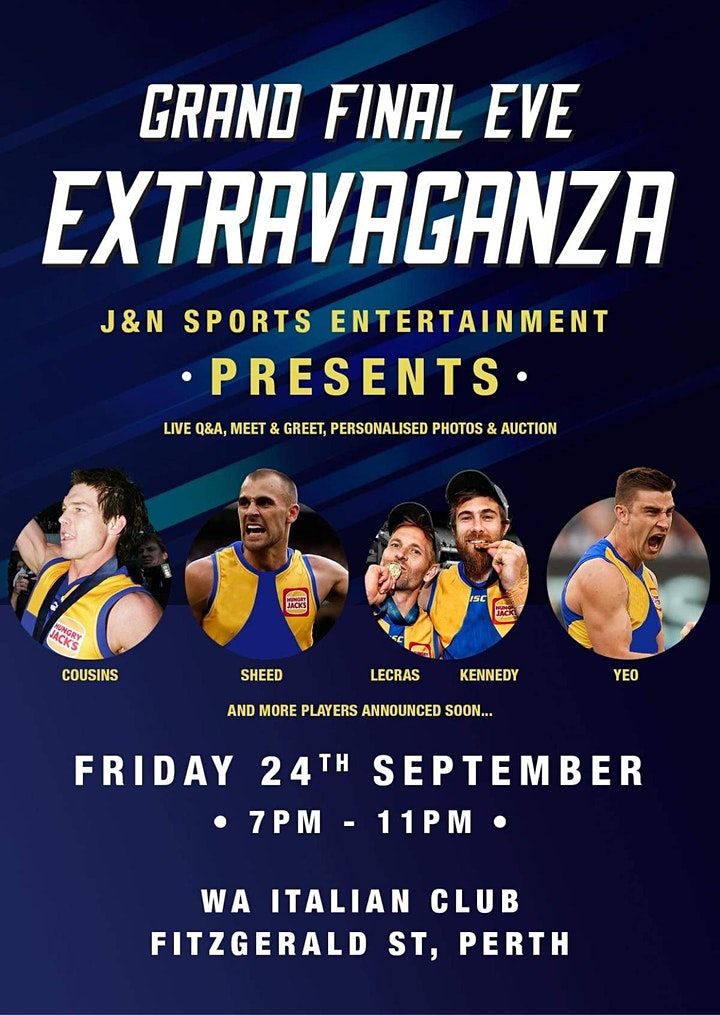 J&N Sports Entertainment Grand Final Eve Extravaganza image
