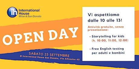Open Day @ International House San Donato biglietti