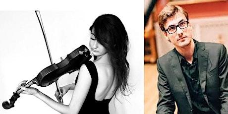 Free lunchtime concert: Emma Arizza (violin) and Stefano Marzanni (piano) tickets