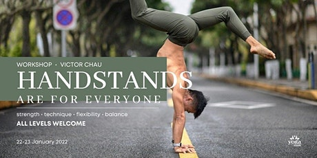Handstands Are For Everyone with Victor | Jan 2022 tickets