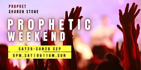 Prophetic Weekend  With Prophet Sharon Stone tickets