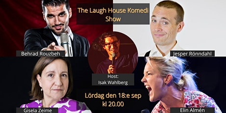 The Laugh House Ståupp Komedi 18:e september tickets