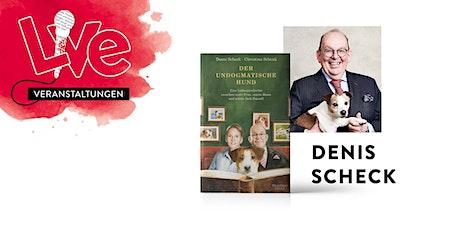 LESUNG: Denis Scheck Tickets