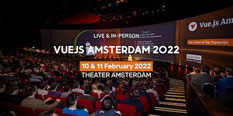 Vuejs Amsterdam 2022 - 5 year anniversary tickets