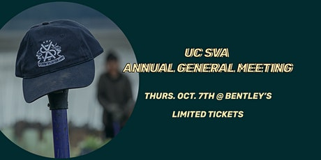 UC Student Volunteer Army AGM tickets