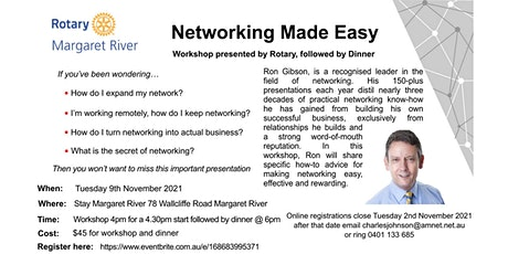 Networking Made Easy - Workshop & Special Rotary Presentation tickets