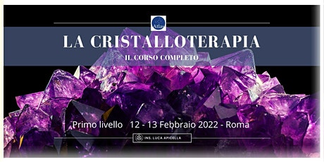 Cristalloterapia  livello 1 biglietti