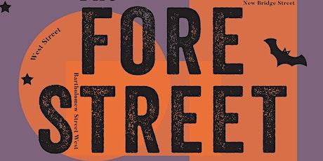 Halloween Special Fore Street Flea 31 October 2021 tickets