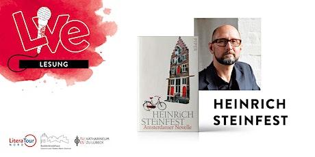 LESUNG: Heinrich Steinfest Tickets