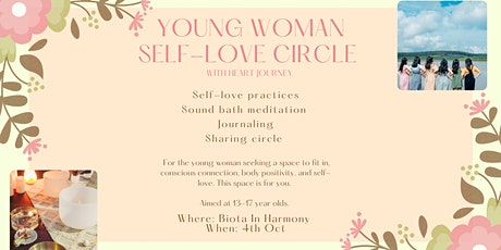 Young Woman Self-Love Circle tickets