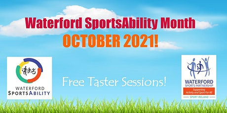 Waterford SportsAbility - Come & Try Handcycles & Trikes Sat 9th Oct 2021 tickets