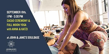 Cacao Ceremony & Sound Healing Meditation with Anna & Katzi at SOULBASE Tickets