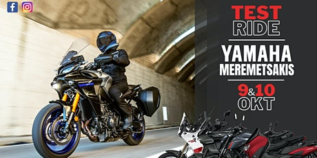 Yamaha Meremetsakis Test ride tickets