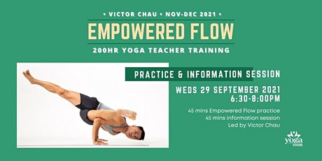 INFO SESSION: Empowered Flow Teacher Training with Victor tickets