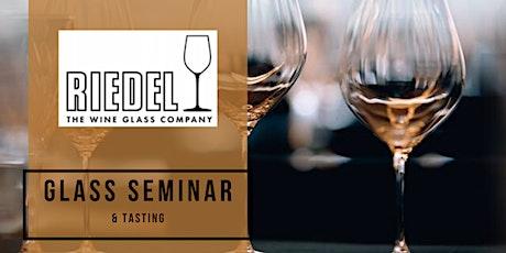Riedel Glass Seminar & Tasting tickets