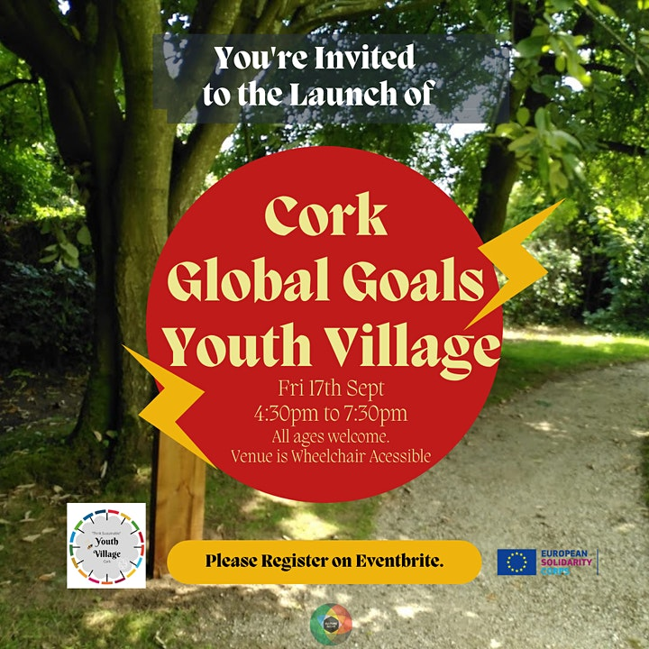 Cork Global Goals Youth Village Launch Event image