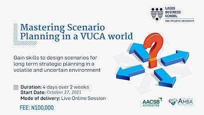 Mastering Scenario Planning in a VUCA world tickets