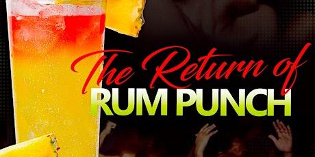 Return of RUM PUNCH - Orlando tickets