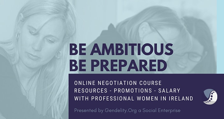 Negotiation Workshop For Professional Women - 3 Mondays Online (from Nov 1) image